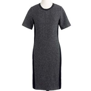 J. Crew Houndstooth Dress